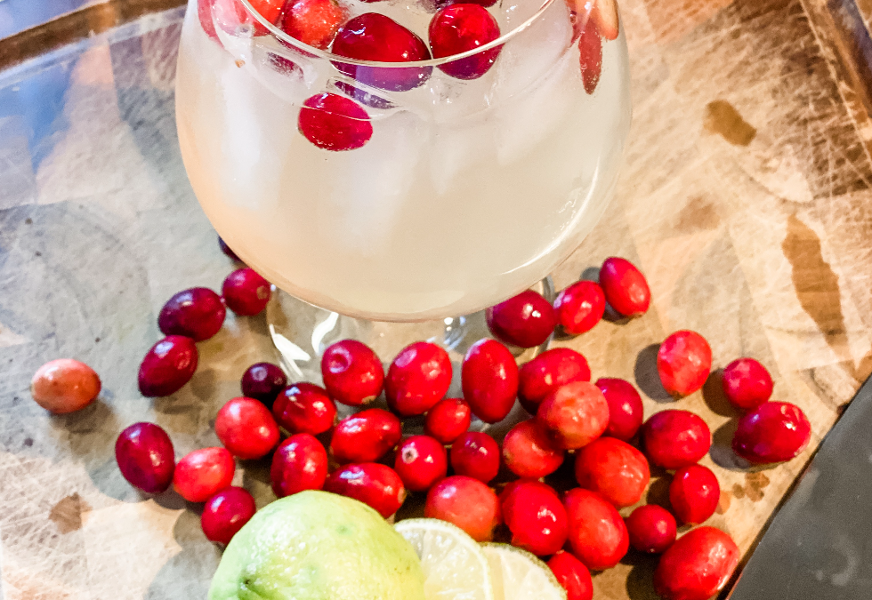 Cranberry Margarita Sangria
