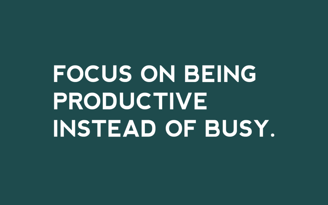 Productivity Tips for Business Owners
